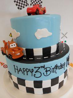 Cars Birthday Cake