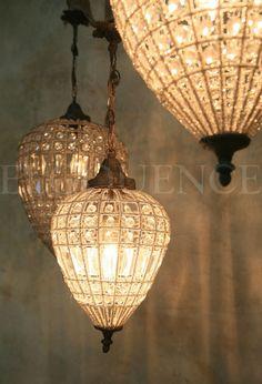 Turkish beaded chandelier