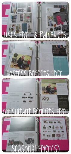 Thirty-One Party-On-The-Go Binder (image 2 of 2)