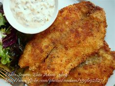 Coconut Crusted Tilapia Fillet