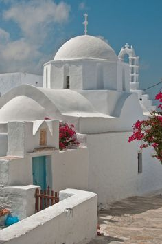 Church in Santorini island, Greece