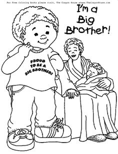 Another big brother coloring page