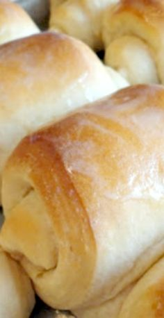 School Lunch Lady Rolls (No Mixer Needed) Recipe ~ So easy and so yummy!