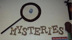 Clutter-Free Classroom: Detective / Mystery Themed Classroom