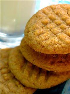 Easy peanut butter cookies.