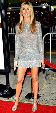 Leg workouts to gain feminine yet muscular legs, a la Jennifer Aniston