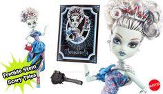 Muñeca Frankie Stein Scary Tales