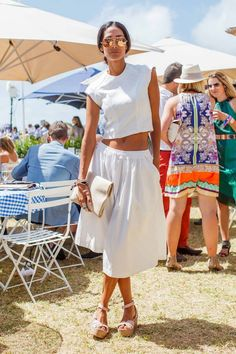 Street style at the 2014 Portsea Polo gallery - Vogue Australia