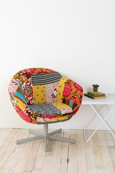 patchwork chair at urban outfitters $249