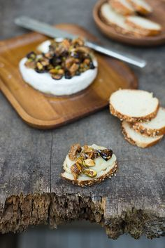 Warm Brie with Fig &