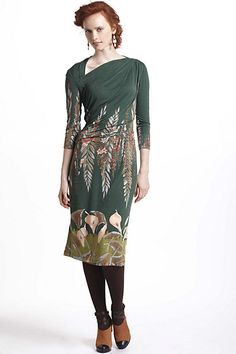 Calla Asymmetric Dress #anthropologie