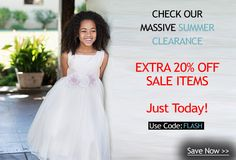 Massive Clearance Expires in less than 6 hours. Get 20% Off Sale Items with code FLASH. See items on clearance here: 20% Off Sale Items Makes An Excellent Deal! Promo Code FLASH expires in less than 6 hours on @SophiasStyle http://bit.ly/1urvDB7