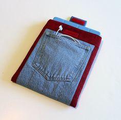 Recycled Denim iPad Case