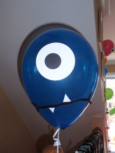 Monster Party Balloons- attach to seat for 1st day of school.