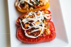 stuf pepper, stuffed peppers