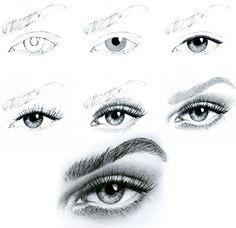 draw eye, drawing tutorials, drawings, diy tutorial, drawing eyes