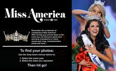 Find Your Miss America photos :)