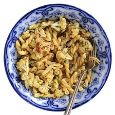 Roasted Cauliflower with garlic and cumin Pasta