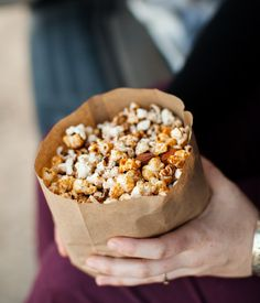 Honey-Almond Popcorn (+ At the Drive-In) | Naturally Ella