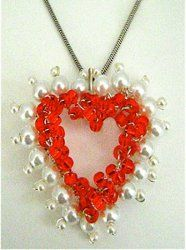 Our recently updated collection of 18 Jewelry Making Designs for Valentine's Day!