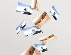 Airtime Productions by Nicklas Lindholm Haslestad, via Behance