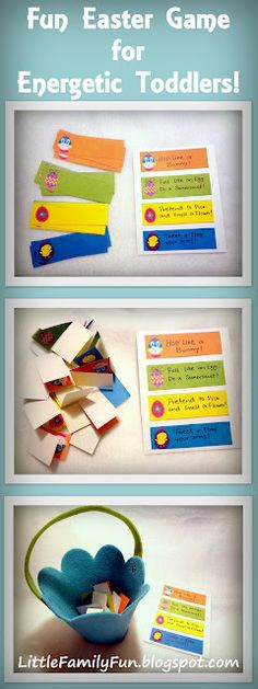 Movement games for Easter - Re-pinned by @PediaStaff – Please Visit http://ht.ly/63sNt for all our pediatric therapy pins