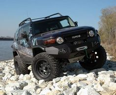Toyota FJ Cruiser Accessory - Rough Country Toyota FJ Cruiser 6 Suspension Lift