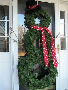 This may be on our front door come December.......