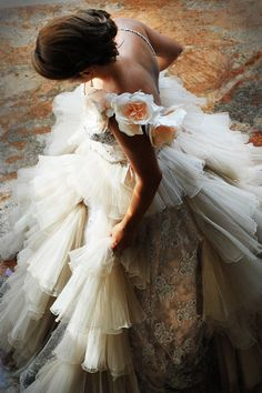 Lovely tulle gown