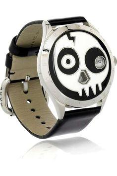 marc jacobs skull watch