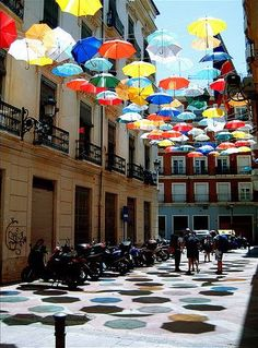 I'm feeling washed out: umbrella art | Paisley Tree Press