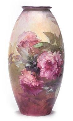 Bischoff bischoff china, beauti china, franz bischoff, vase, royal bayreuth, porcelain, china paint, art, glass
