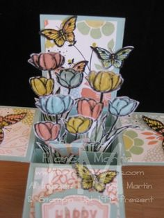 Card in a Box  by France Martin - Cards and Paper Crafts at Splitcoaststampers