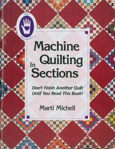 This is an excellent quilting resource for anyone looking for tips on their machine quilting. You'll learn six popular techniques for putting together a quilt pattern.