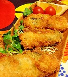 """""""Deep-fried oysters"""" - japanese recipe/みんな大好きカキフライ"""
