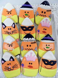 Flour Box Bakery — Candy Corn Cookies