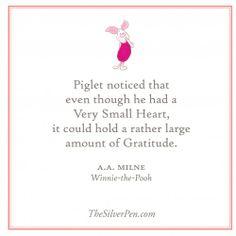 Gratitude | The Silver Pen