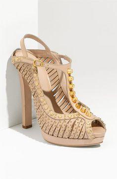 Alexander McQueen T-Strap Sandal