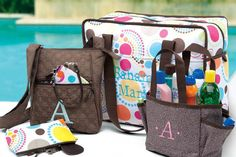 Thirty-One!  LOVE their bags, totes, etc.