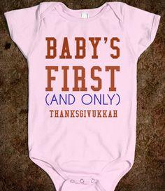 BABY'S FIRST THANKSGIVUKKAH