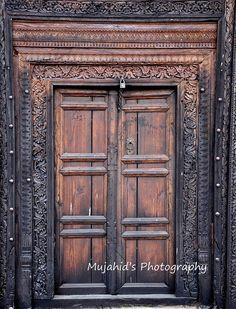 Time traveller's door, Islamabad, Pakistan.