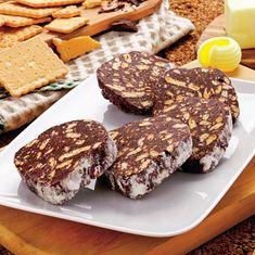 Salam de biscuiti - Retete culinare - Romanesti si din Bucataria internationala