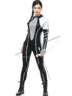 Women's Hunter Games Jumpsuit | Wholesale TV and Movie Halloween Costumes for Womens Costumes