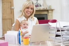 Single Work-at-Home Moms | Stretcher.com - How do successful moms do it?