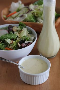Crazy Good Creamy Salad Dressing