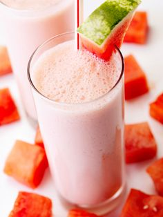 Minty Watermelon Shakeology  Mint and watermelon, an antioxidant powerhouse, are a perfect pair in this refreshing smoothie.