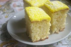 Pineapple, Coconut & Yoghurt Cake