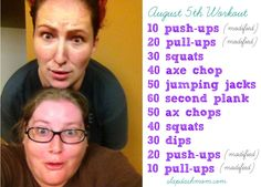 Fat Girls CrossFit - slightly modified crossfit workout for those wanting to do it, but are a little out of shape to jump right into it. Still gives you an awesome workout.