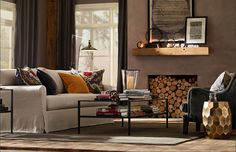 Pottery Barn $50K Design Your Home Sweepstakes. Nice and cozy:)