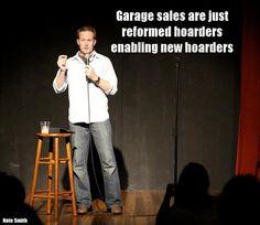 On garage sales